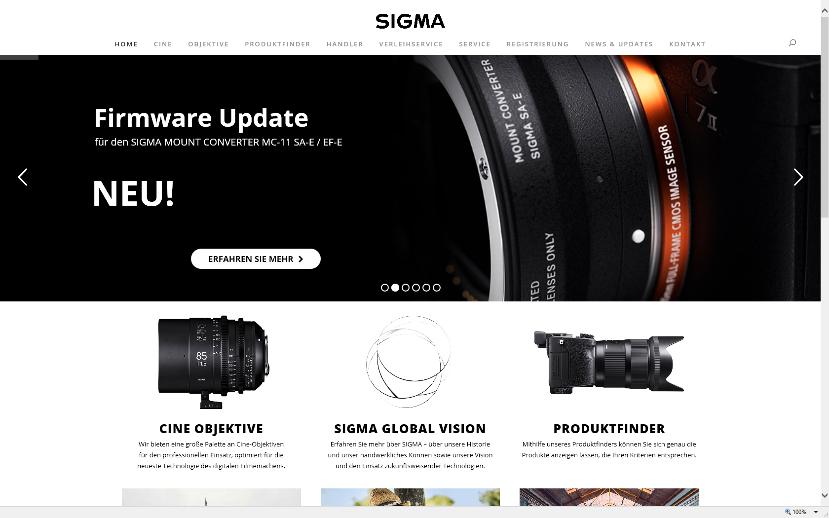 Sigma Photo Austria